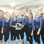 Gymnastics Team Wins Invitational