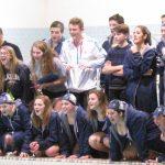 Girls Swimming ends regular season with Senior Night Win