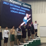 Boys Swimmers 3rd at Sectionals, 2 relays Statebound