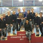 Gymnastics Team wins Sectionals