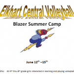 Elkhart Central to host Volleyball Camp