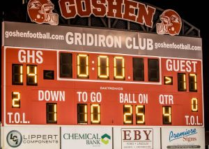 Football vs Goshen