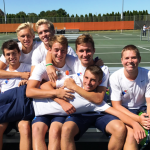 Boys Tennis wins La Porte Invite