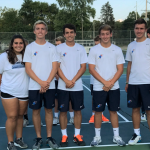 Blazer Tennis wins on Senior Night
