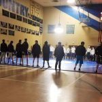 Wrestling team defeats Riley