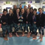 Gymnastics team wins 9th straight Holiday Blazer Invitational