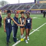 Lady Blazers finish 4th at Marion Relays