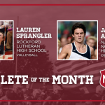 And the November MOD Pizza Athlete of the Month is….