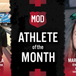 The MOD Pizza February Athlete of the Month is…