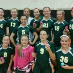 8th Grade A Team Volleyball