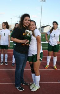 Lady Indian Soccer Parent Night