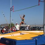 Pole Vaulters Compete at Regional Track Meet