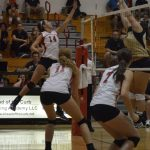 Volleyball Comes up Short in Close Battle