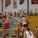 Heritage Volleyball Falls Short in a Close 5 Games