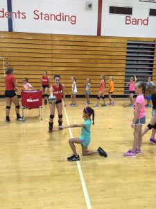 2015 Mini-Patriot Volleyball Camp