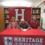 Saalfrank Signs with Indiana University