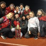 St. Clairsville High School Girls Varsity Track finishes 1st place
