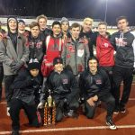 St. Clairsville High School Boys Varsity Track finishes 1st place