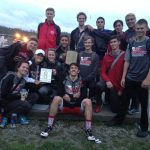 St. Clairsville High School Girls Varsity Track finishes 2nd place