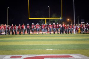 Red Devils vs South Range (senior night pics)