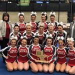 St.Clairsville Cheerleaders Capture 12th  OVAC Title