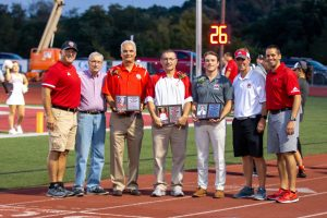 Red Devil Football vs Indian Creek- Hall of Fame Night