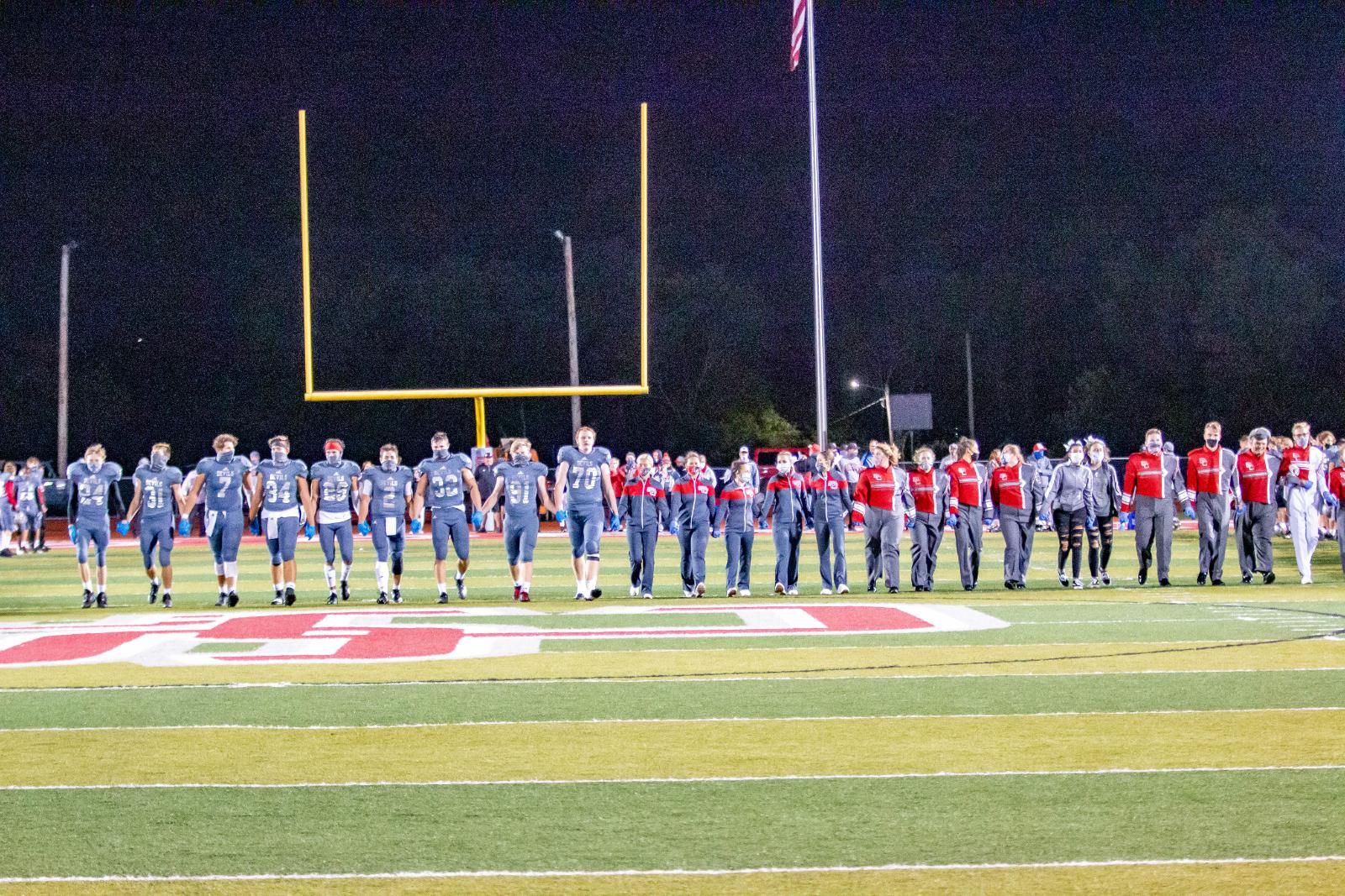 2020 Varsity Football VS Martins Ferry (Homecoming)