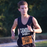 Senior Garrett Lawson Region 4-AAA Cross Country Champion