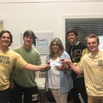 Camden Baseball Presents Check to Food for the Soul