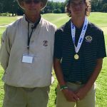 Kelly Wins AAA Golf State Championship