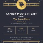 Sheriff's Office to Host Movie Night at Zemp Stadium July 13