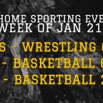 Sporting Events for Week of Jan 21-25