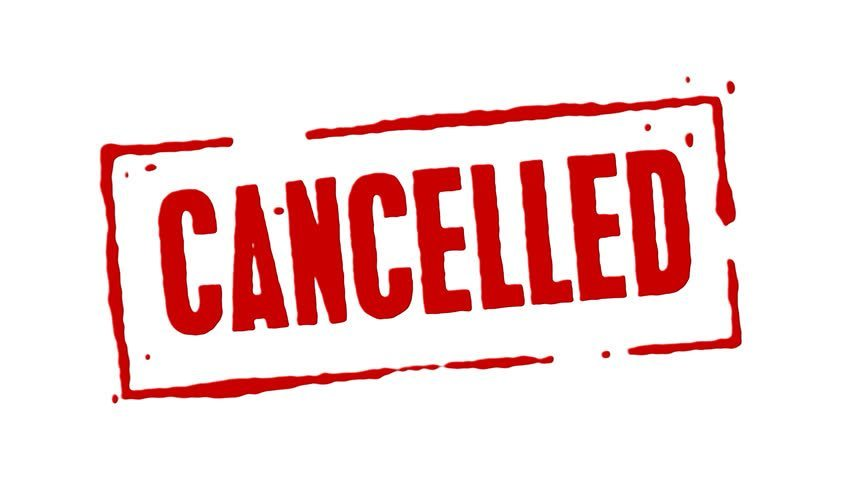 March 13, 2020: ALL ATHLETIC EVENTS CANCELLED