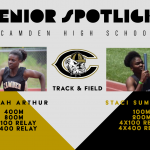 Senior Spotlight: Deniah Arthur and Staci Sumpter