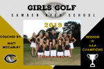 2019 CHS Girls Golf Awards