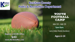 KCPD Youth Football Camp July 13-15
