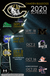 Revised 2020 Football Schedule