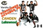 Varsity Football vs Lakewood — POSTPONED