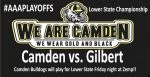 Football: Lower State Championship Game Set –Gilbert at Camden–