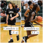 Camden🐶🏀Sweeps Part One of Wateree River Rivalry