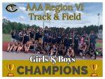 Track Teams win AAA Region VI Championship
