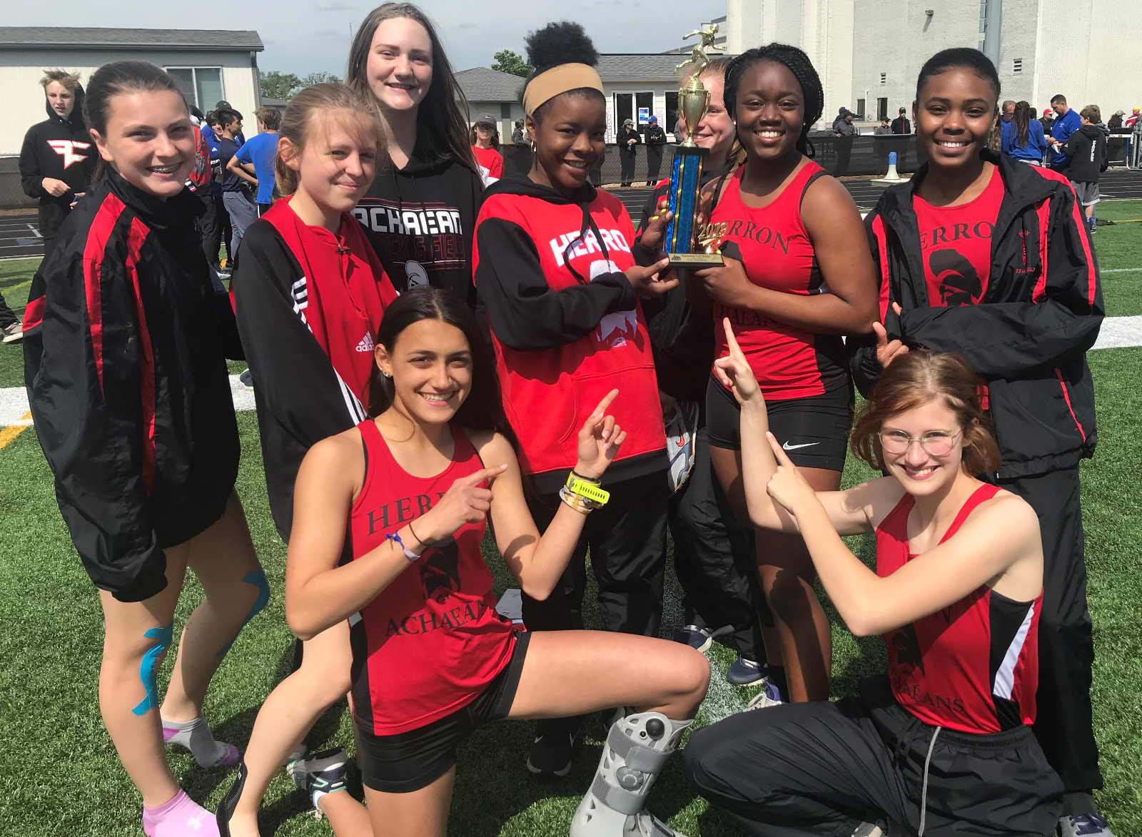 Herron Girls Take First at Freshman City Meet!