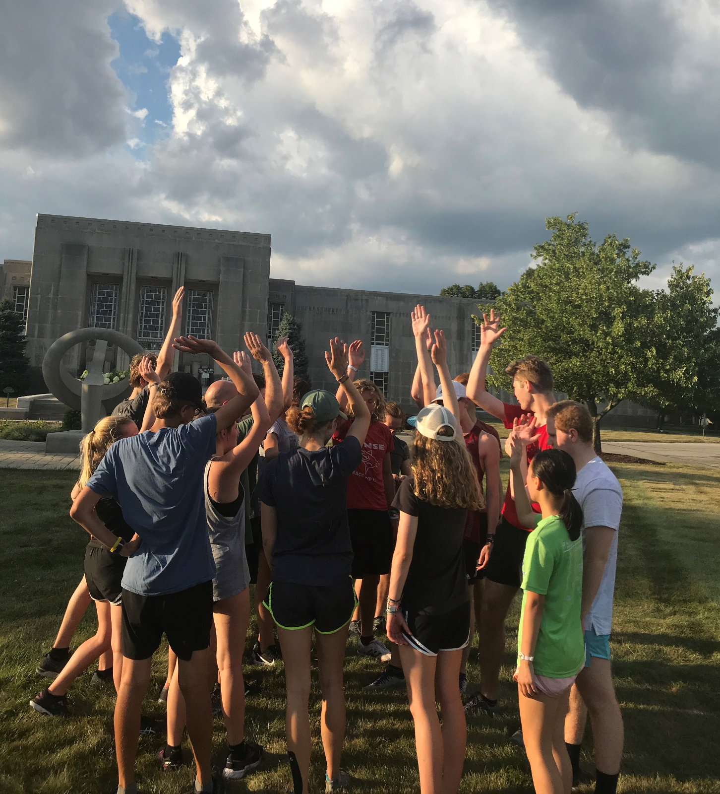 Cross Country practice for week of August 12