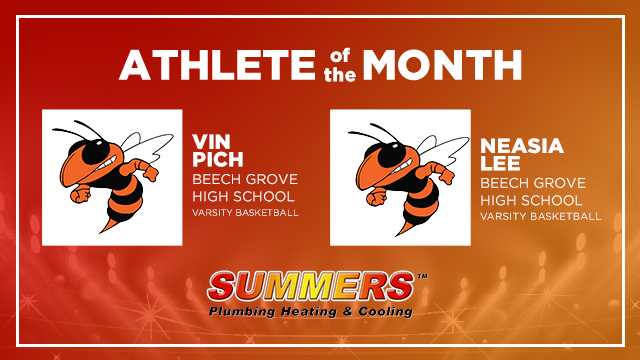 And the Summers Plumbing Heating & Cooling March Athlete of the Month is…