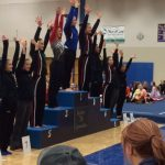 Kennedy Bican competes at MSHSL State Gymnastics this weekend!