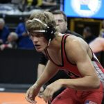 Scherber, Baloun compete at state wrestling tournament!