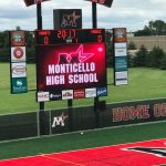 Monticello community dazzled as stadium opens for the first time!