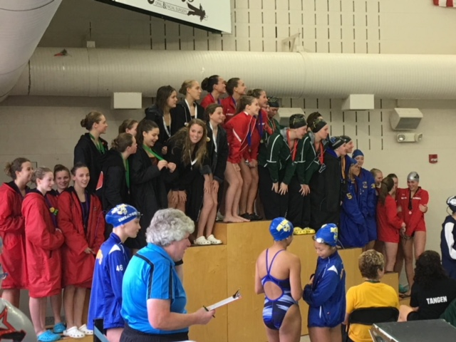 Monticello Swim/Dive takes third at True Team Sections!