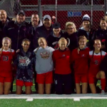 Girls soccer team wins tenth straight, end regular season with 3-0 win over Tigers!