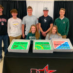Seven MHS student-athletes pursue academics and athletics at the next level!